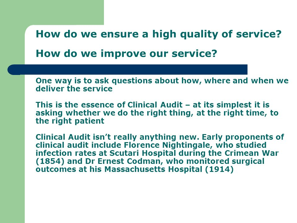 a guide to clinical audit - ppt download, Presentation templates