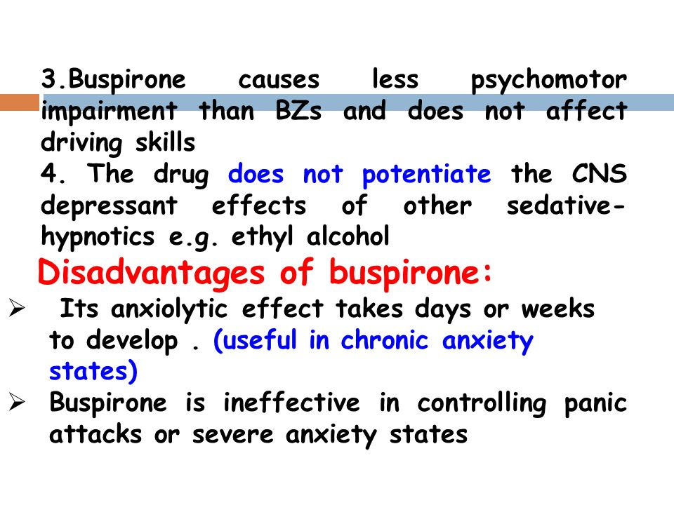 Buspar And Alcohol Overdose