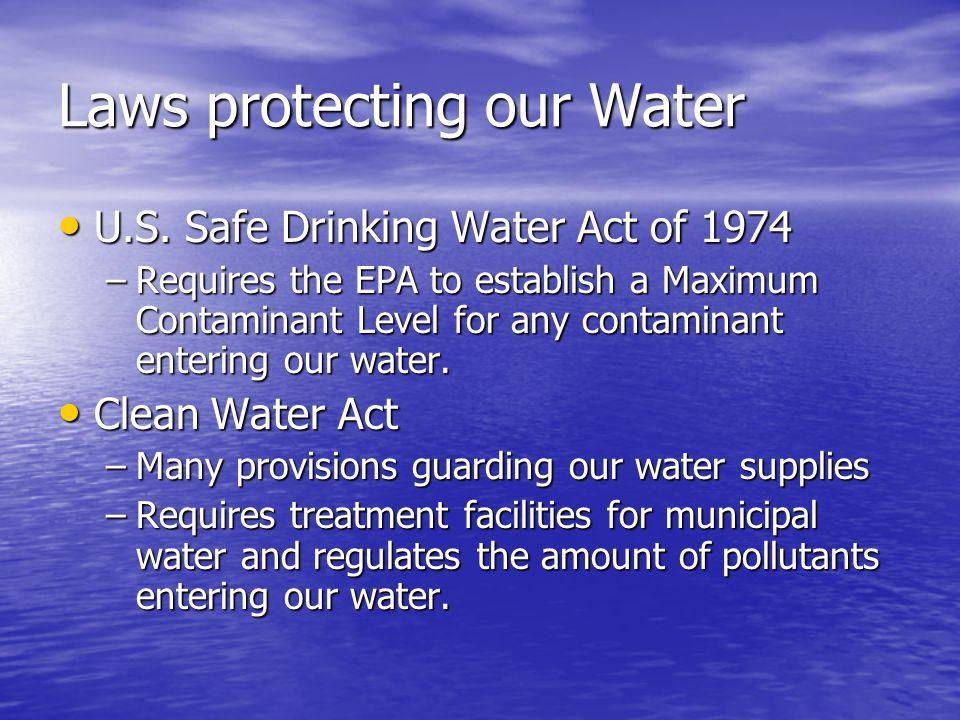 Epa Maximum Nitrogen In Drinking Water