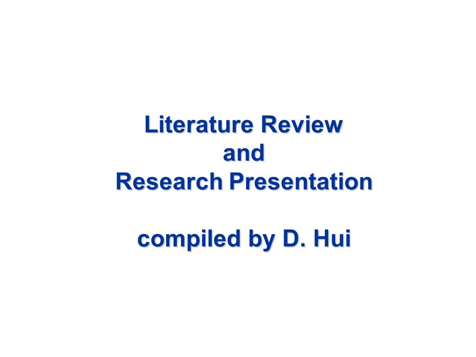 The Literature Review in the Masters Dissertation   ppt video     How to    make critiquing easy