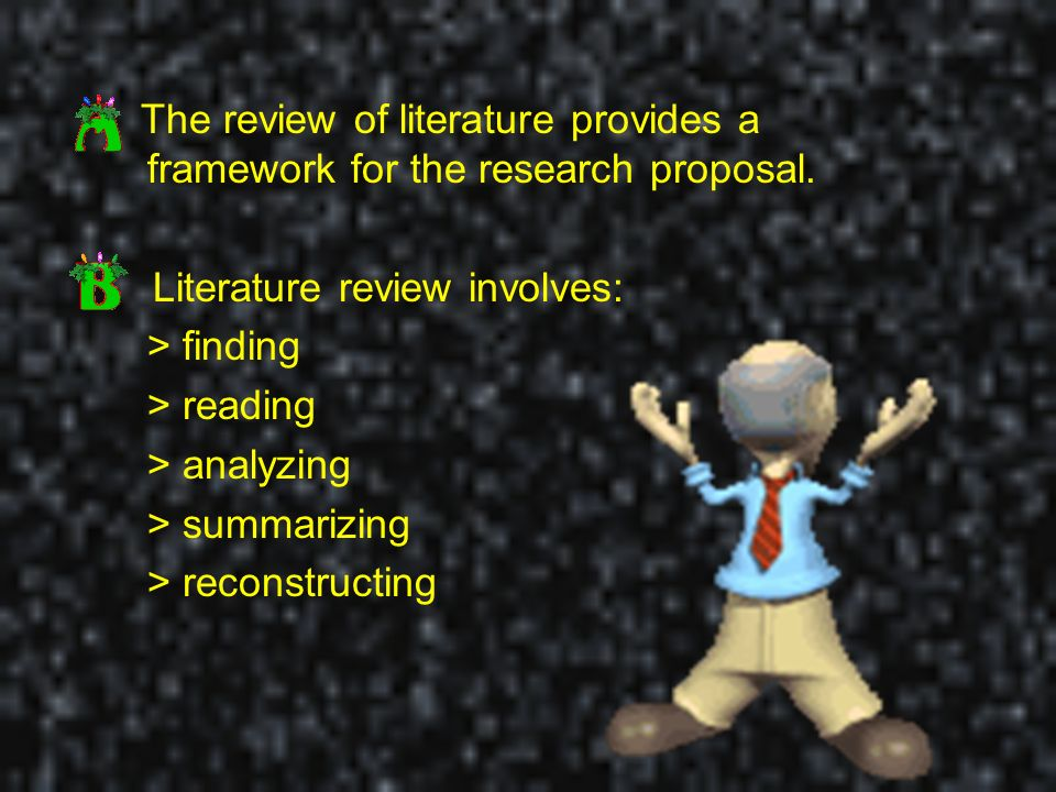 What Is Literature Review In Research Proposal