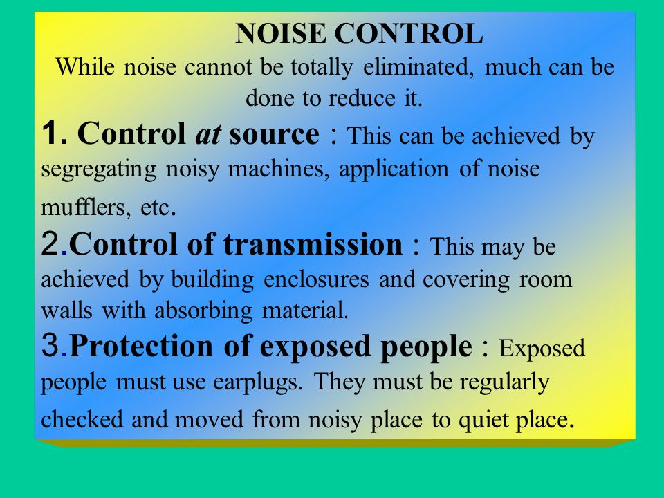 a noisy place description Evidence shows that noise pollution can be damaging  insulation, or even  better by designing our society to be less noisy in the first place.