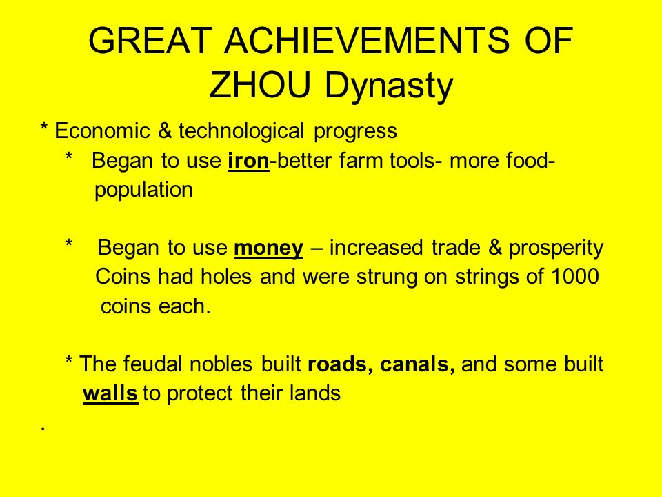chinas greatest dynasties and their achievements The song dynasty (960-1279  (618-906), was one of the greatest dynasties in chinese history that  who eventually established their rule in china and.