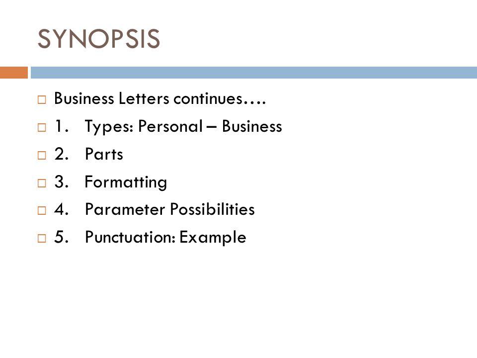 Personal Business Letter Personal Business Letter Example 2359
