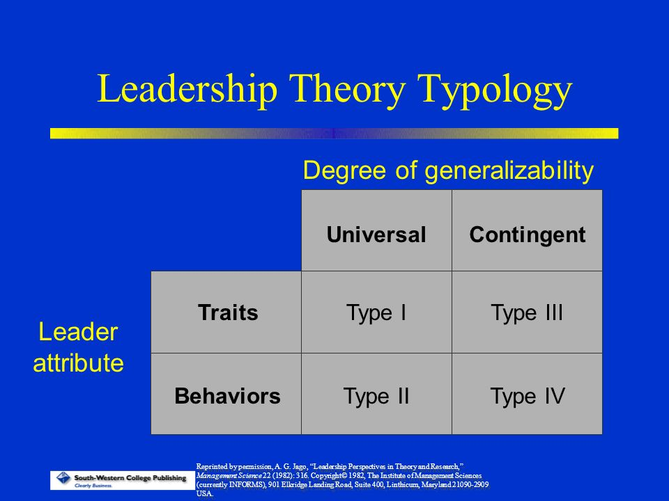 leadership and theory Since the early 20th century, business leaders and psychologists have tried to identify key leadership theories and models to reflect what exactly makes a good leader and what a true leader is.