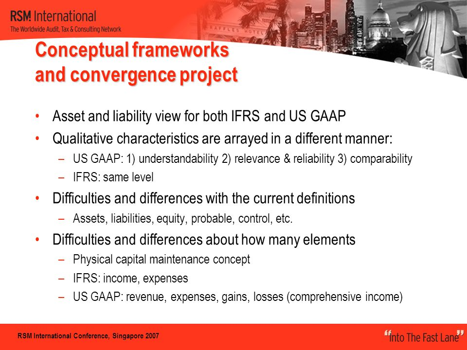 relevance vs reliability ifrs Ias-1: presentation of financial statements:  value relevance and ifrs:  the spirit of the principles is ensure the relevance and reliability of the financial.