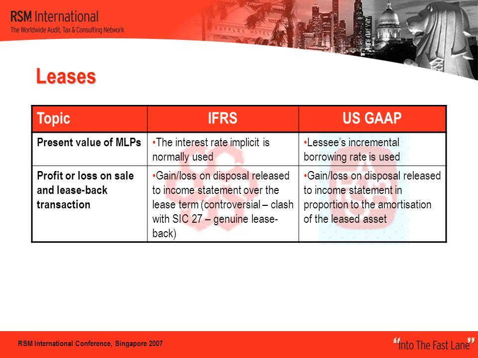 Stock options ifrs vs us gaap