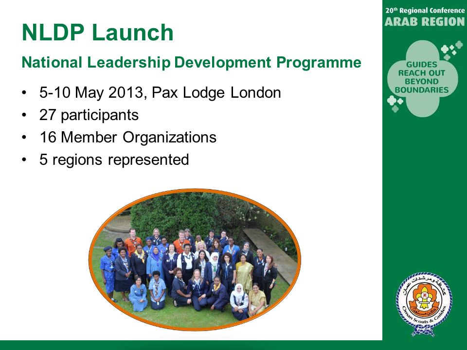 NLDP Launch National Leadership Development Programme