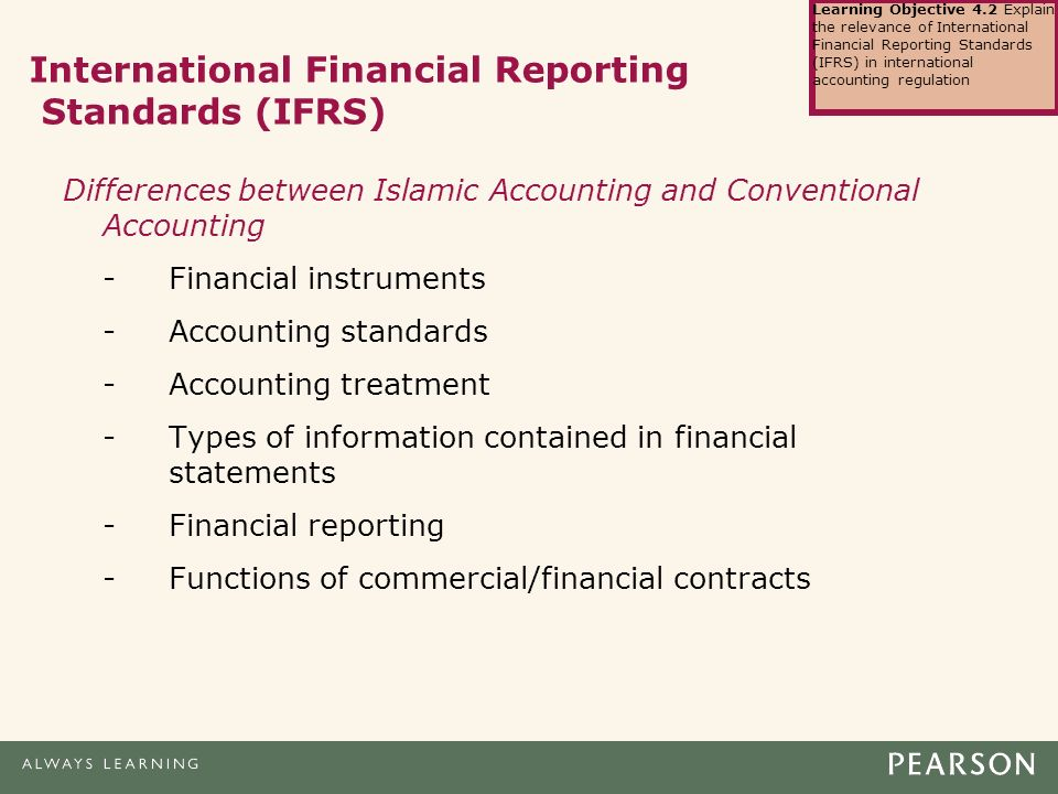 differences between conventional and islamic accounting Free essay: the differences between conventional and islamic accounting abstract the concern of this project paper is to explore the differences between.