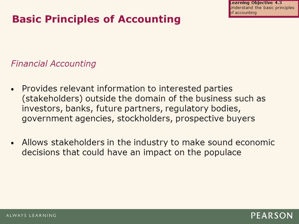accounting understanding the basic principles Basic accounting principles and understanding financial statements december 24, 2017 / 0 comments / in uncategorized / by kristen share this entry share on facebook.