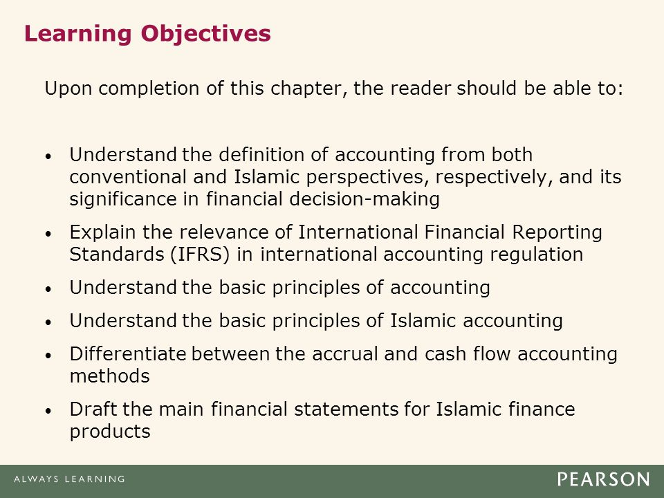 Islamic Accounting – Principles & its Comparison with Conventional Accounting