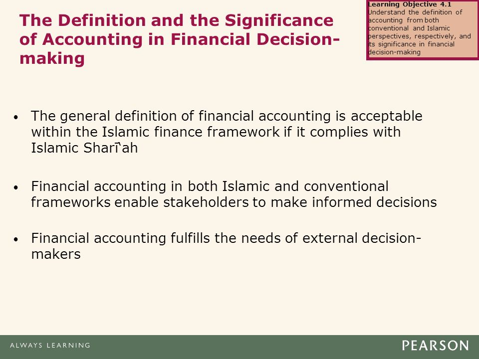 understanding the objectives of islamic banking The institute of islamic banking and insurance (iibi) is a registered charity and a not for profit company, incorporated as a uk company limited by guarantee with charitable objectives with members, students and other interested individuals and organisations that.