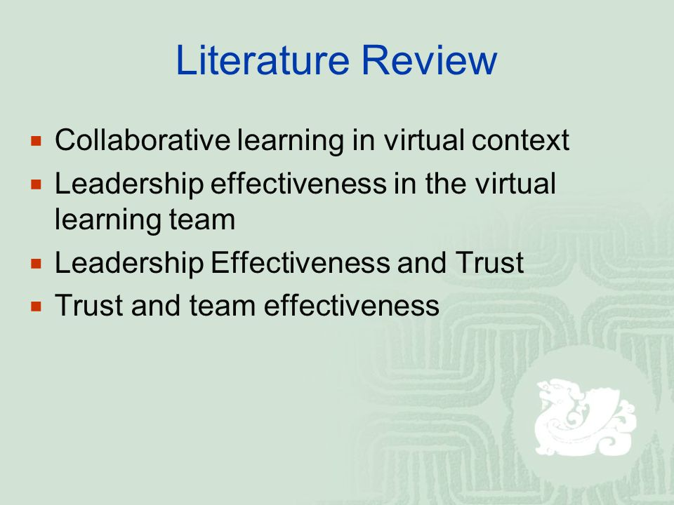 the literature on leadership styles education essay Transformational leadership - essay sample transformational leadership is the leadership approach that creates positive and valuable change in the followers it is a leadership style that leads to changes that are positive to the followers.