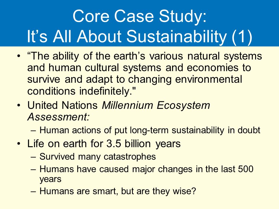 a case study on environmental problems The student's defined environmental problems made a diagnosis and elaborated  a case study, to discuss concrete solutions in their community the educational.