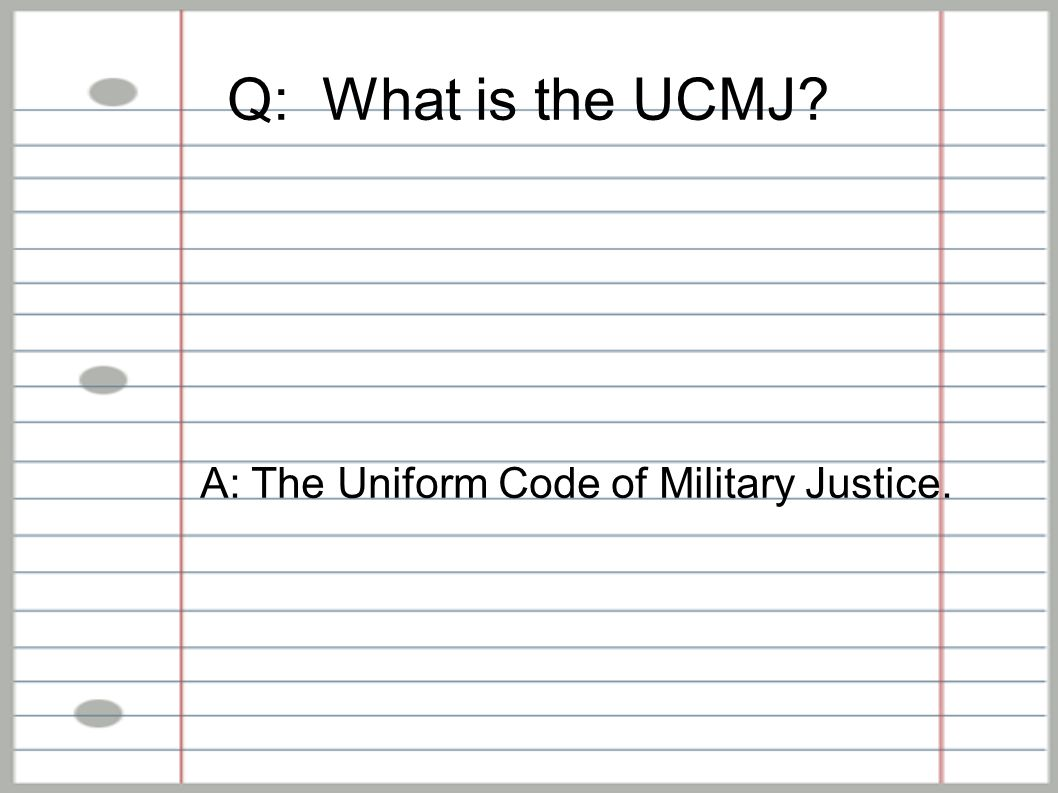 uniform code of military justice and Soldiers who use social media must abide by the terms outlined in the uniform code of military justice.