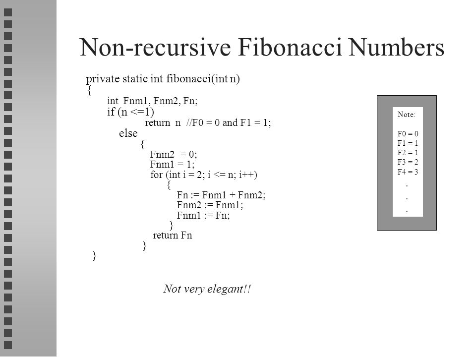 Java Program to Print Fibonacci Series with and without using Recursion