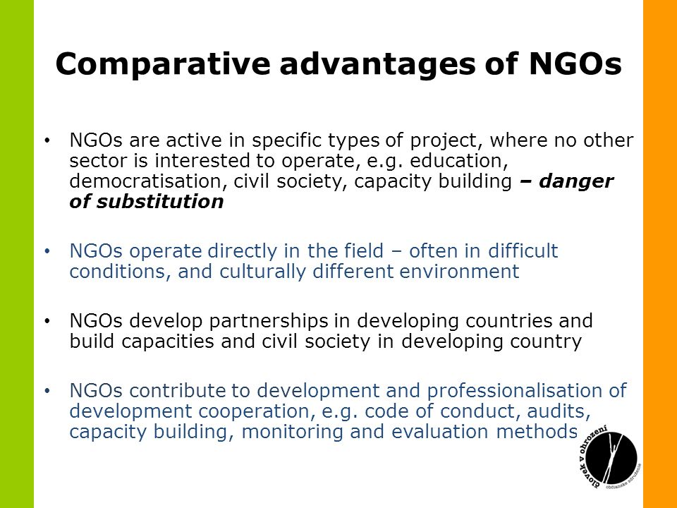 role of ngos in national development Chapter-iii the role of ngos in rural development with special reference to women non-governmental organisation has been generally defined as voluntary, autonomous, non-profit.