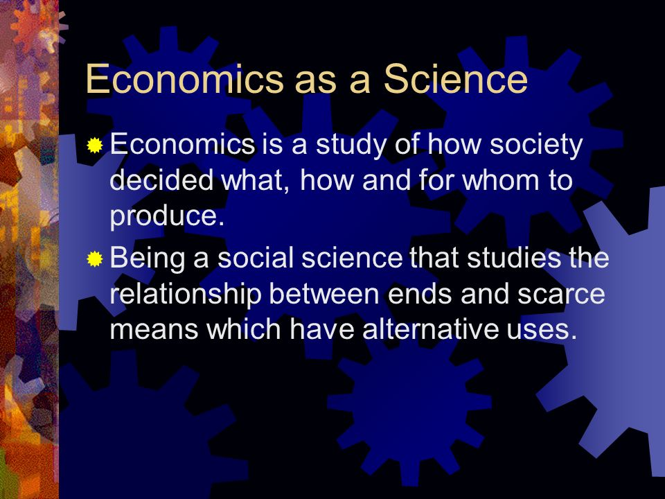 an analysis of how to produce when to produce and for who to produce in economics The central problems of what and how much to produce how to produce and for whom to produce are to discuss anything and everything about economics.
