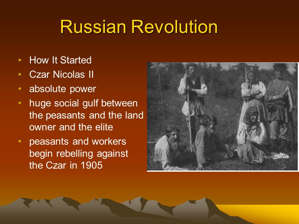 czars of russia karl marx and the russian revolution Marx mainly viewed tsarist russia as a counter-revolutionary threat to european revolutions he based this view on the experience of 1848, when russian troops helped austria put down a.