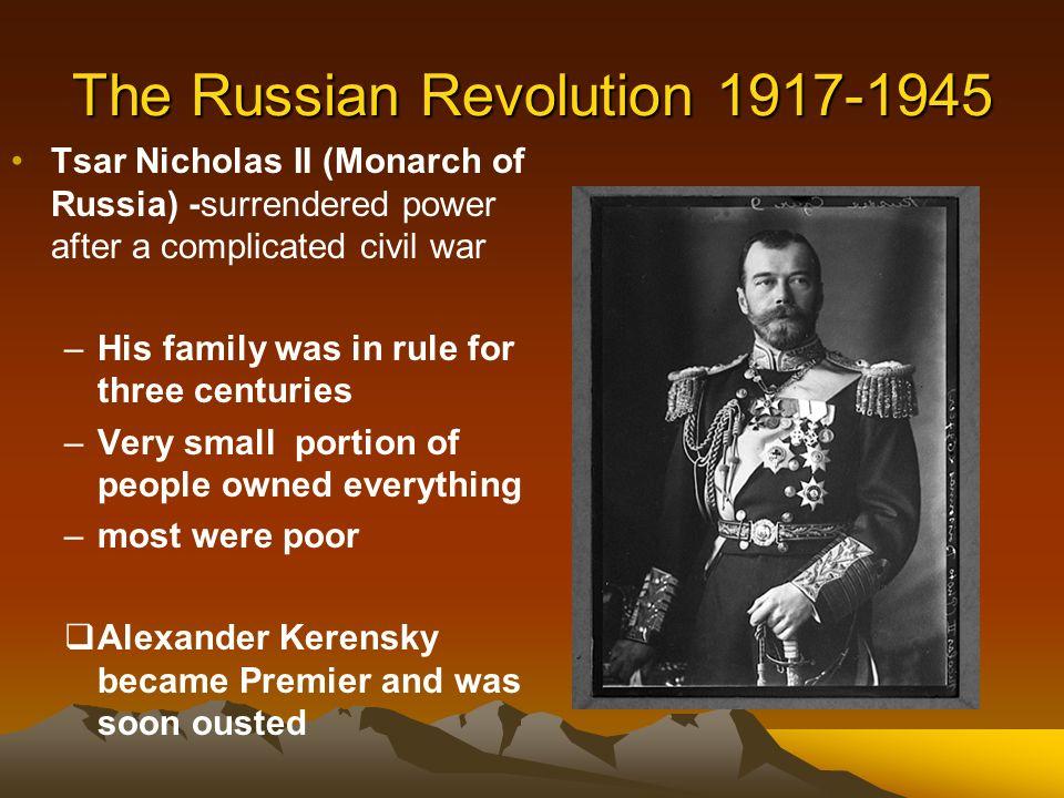 Control In The Russian Revolution 78