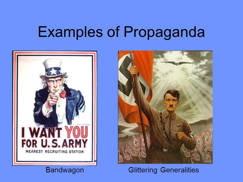 use of propaganda in animal farm Animal farm & propaganda propaganda ideas or information used to deliberately help before the animals stage their rebellion and establish animal farm mr.