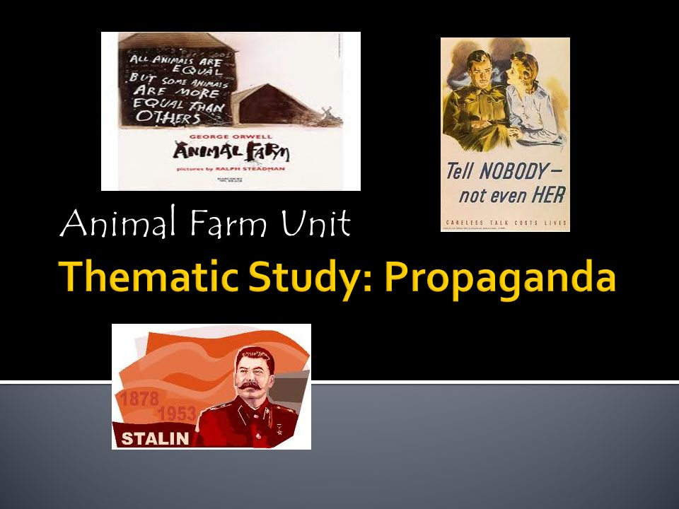 a study of political propaganda Chin-yunn yang -the perfect example of political propaganda: the chinese   in this research paper, a study of this media propaganda war will be conducted.