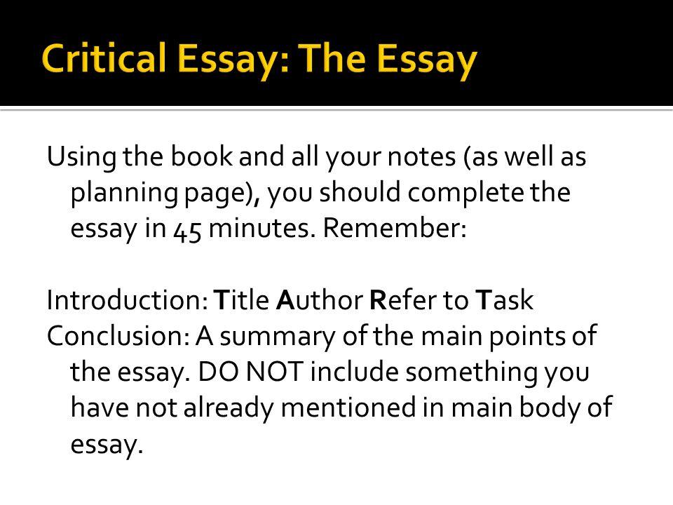 essay referencing task