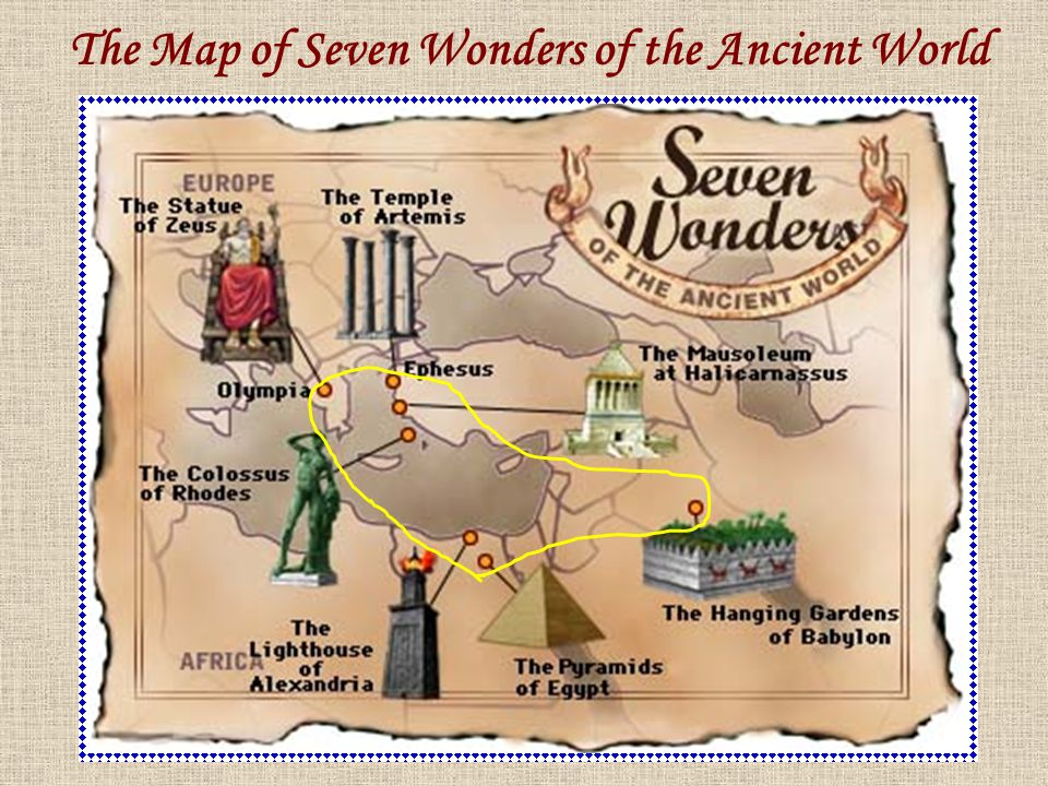 The Seven Wonders of the Ancient World - ppt video online ...