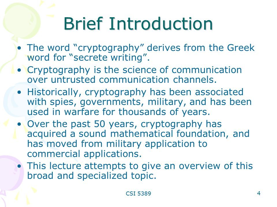 cryptography essay Free essay: cryptography part one---why do we need to learn cryptography now  is a time which the information is extremely development a lot of datas are.