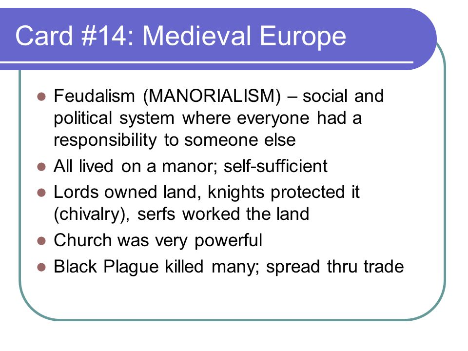 feudalism chivalry essay Feudalism was the first step to ideas about limited government power and ideas that everyone had rights these ideas eventually led to important documents like the magna carta in conclusion feudalism is a political system based on bonds of loyalty that both harmed and helped european society.