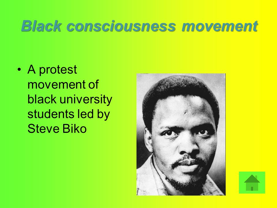 Black consciousness movement
