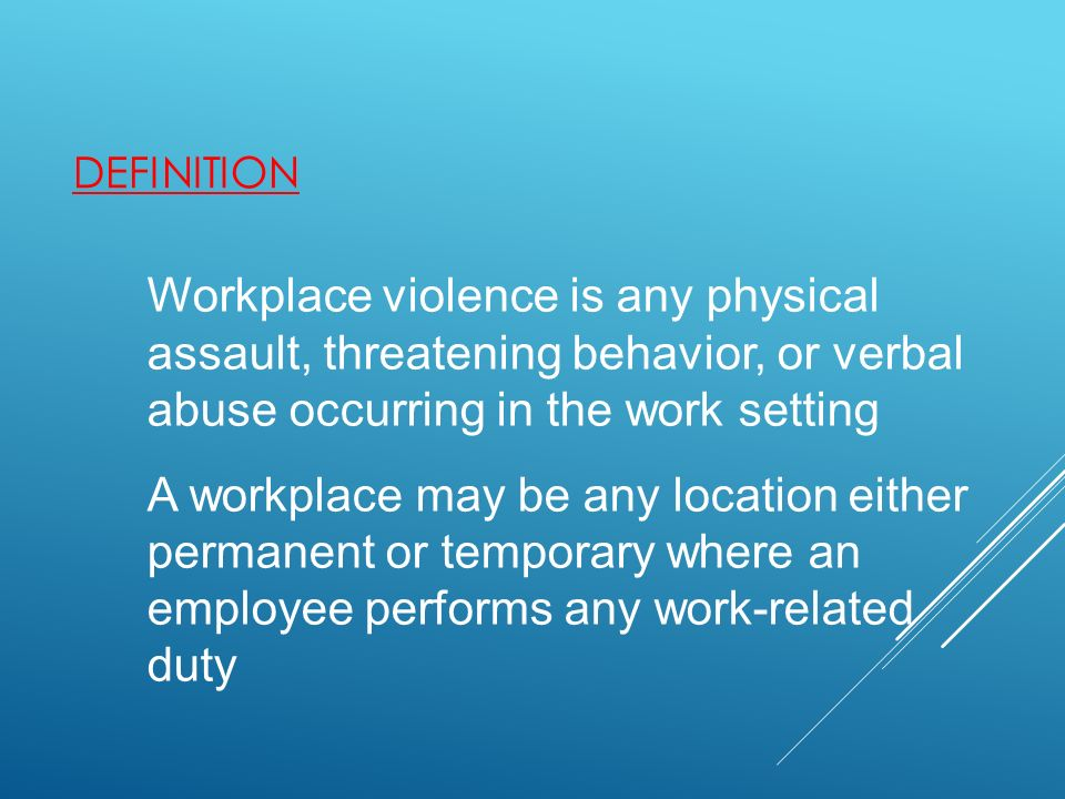 What Is Workplace Intimidation