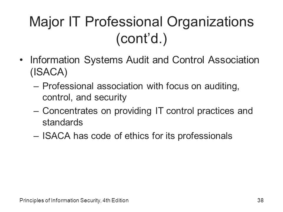 isaca code of professional ethics pdf