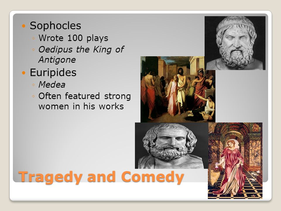 Sophocles vs. Euripides