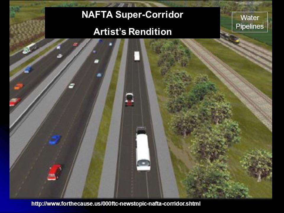 NAFTA Super-Corridor Artist's Rendition