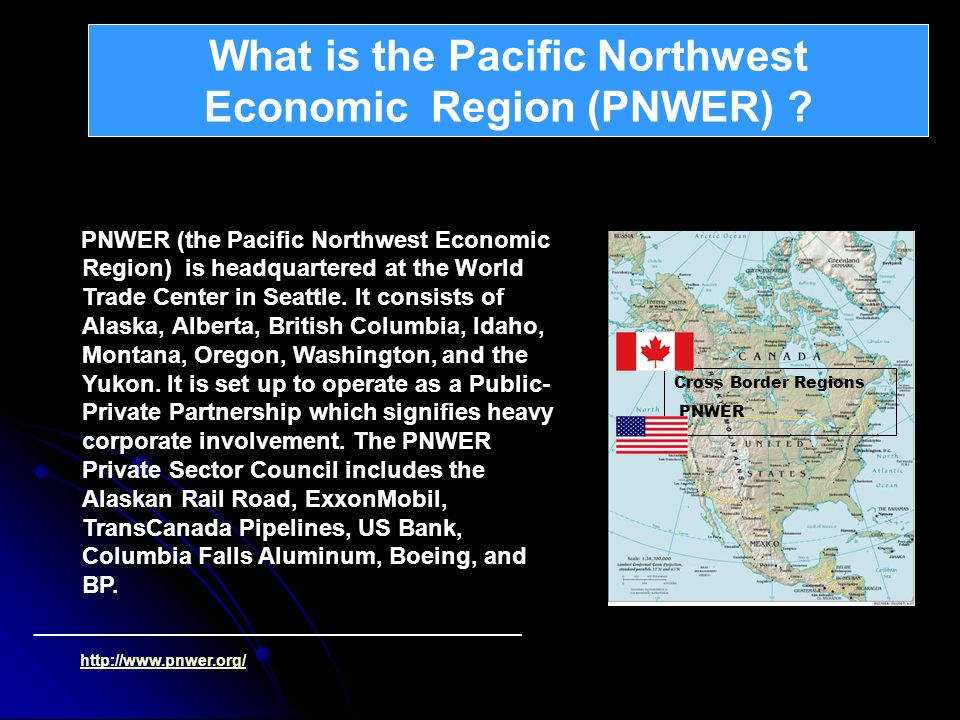 What is the Pacific Northwest Economic Region (PNWER)