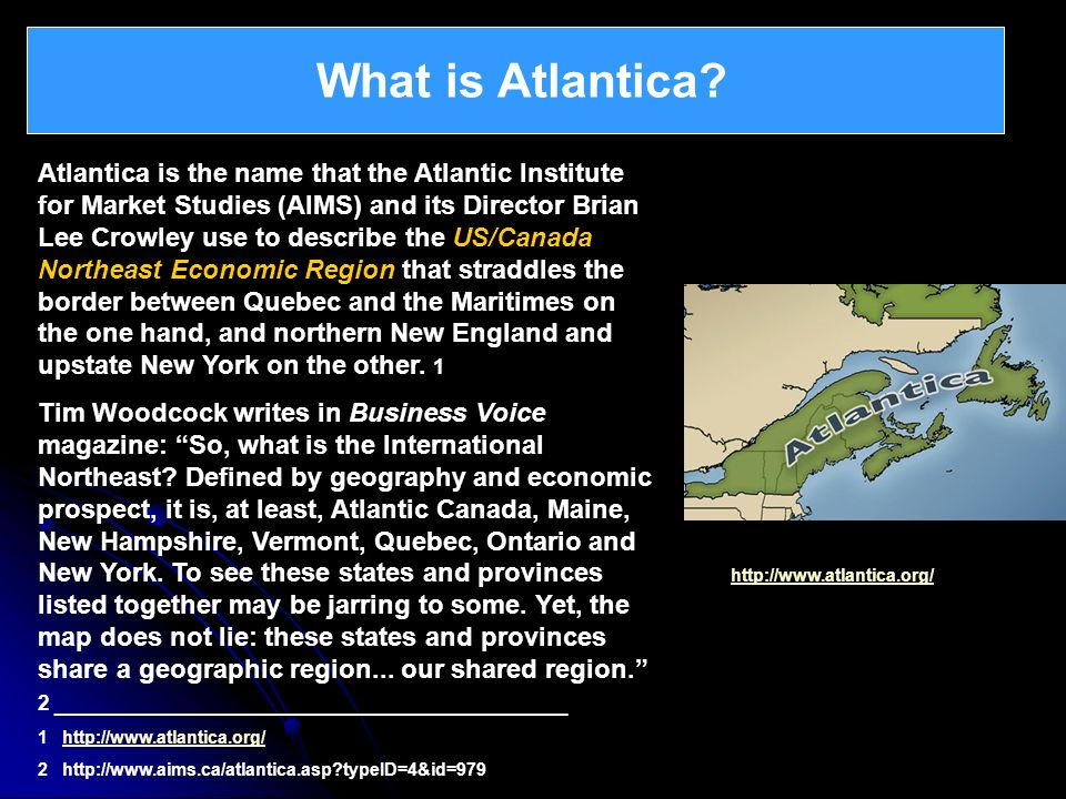 What is Atlantica