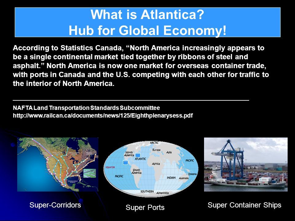What is Atlantica Hub for Global Economy!