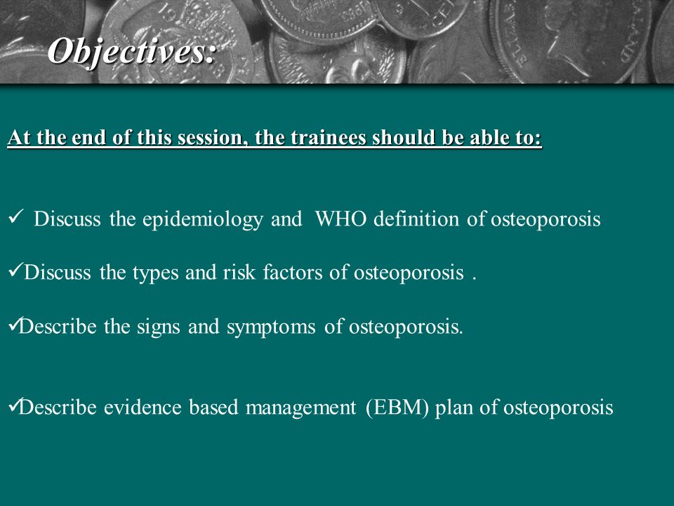 Osteoporosis high risk patients definition