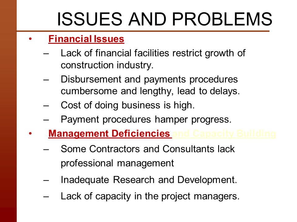Examples of Agency Problems in Financial Markets