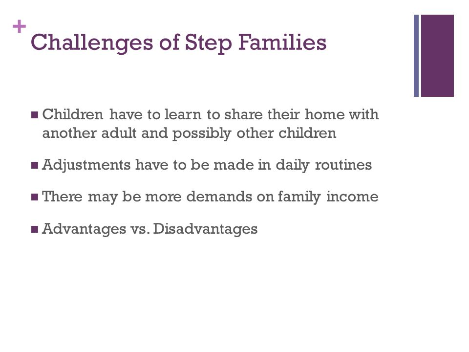 challenges of stepfamilies Listening to children booklet set + bonus material five simple tools to meet your everyday parenting challenges see  and blended families  stepfamilies to.