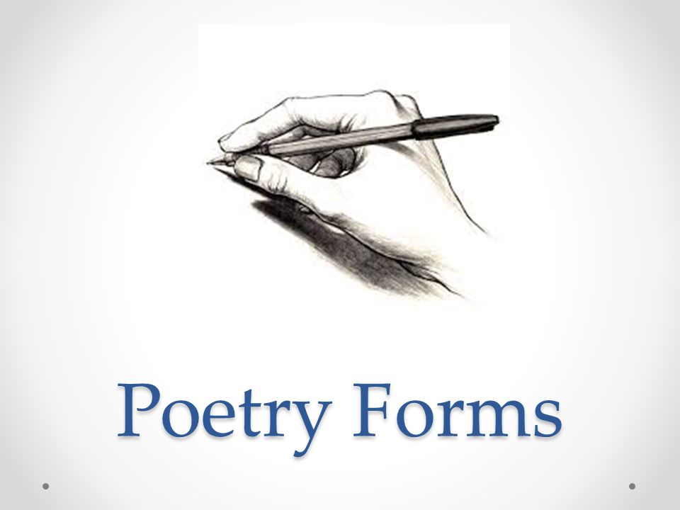 Poetry Forms