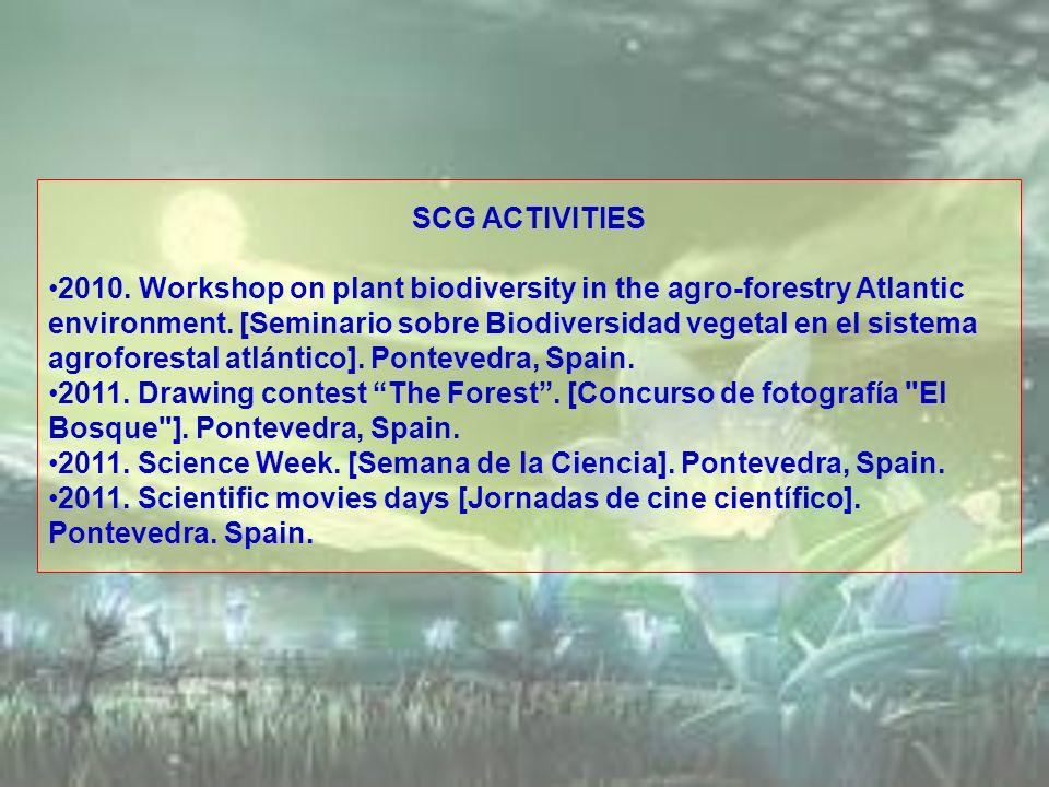 SCG ACTIVITIES