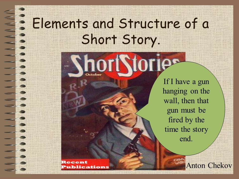 elements of short story Elements of short stories what is a short story a short story is a relatively brief fictional narrative or story written without using any rhymes of rhythms the short story has a beginning, a middle, and an end and is composed of the following elements: • theme • plot • character • setting .