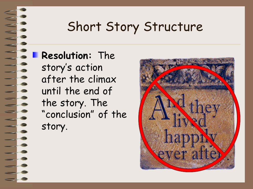 structure of the short story a