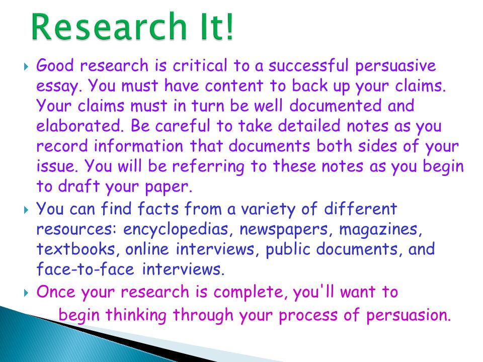 Research It!