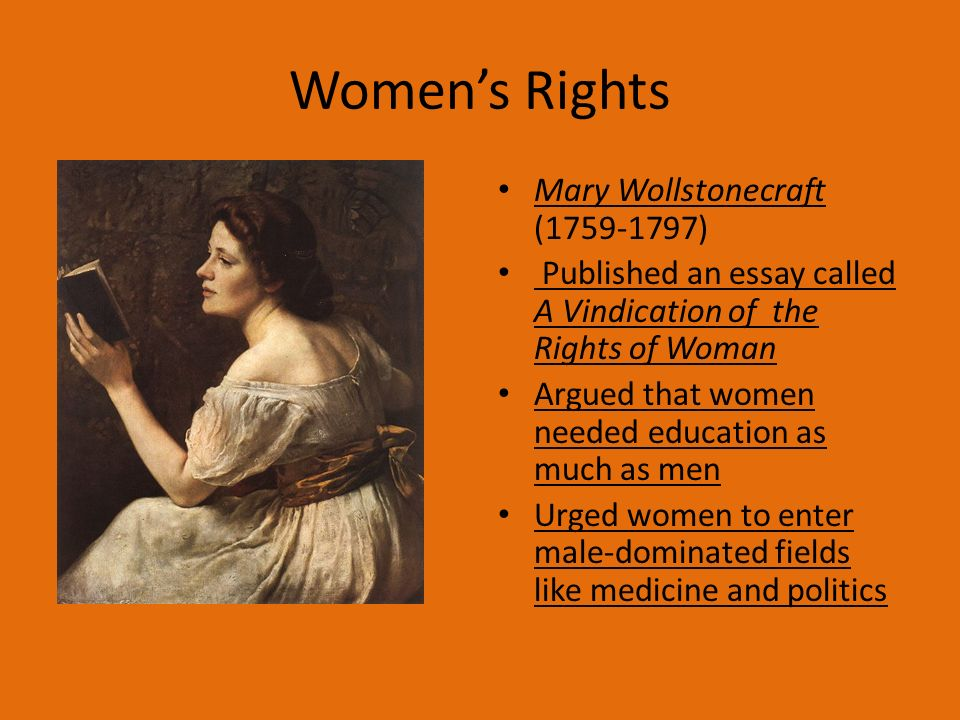 the enlightenment chapter section ppt  11 women s