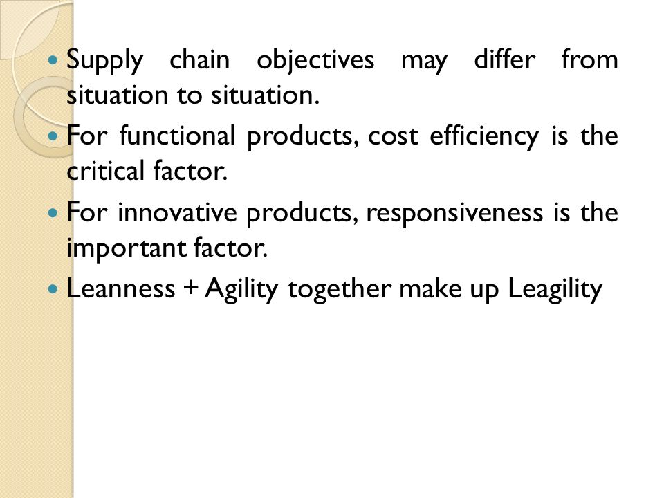 leagility defined for the supply chain essay Free essays bullwhip effect in supply chain safety stock safety stock can be defined as inventory held as buffer against mismatch leagility in supply chain.