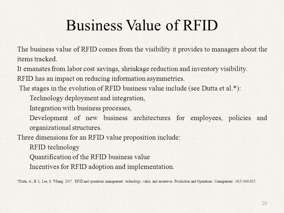 Successful RFID Implementation