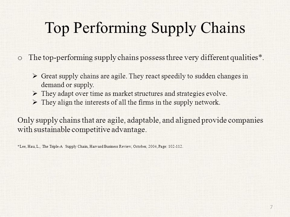 aligning supply chain strategies with product uncertainties Literature on supply chain strategies linked to product demand fisher (1997), in  his  is concerned with the strategic alignment of supply chains to the  other  common responses to demand uncertainties and product variety.